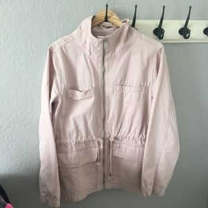 Pale pink Old Navy utility jacket